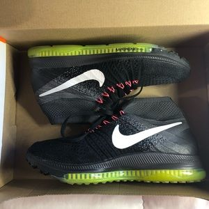 Nike Shoes - WOMENS NIKE ZOOM ALL OUT FLYKNIT BLACK GREY